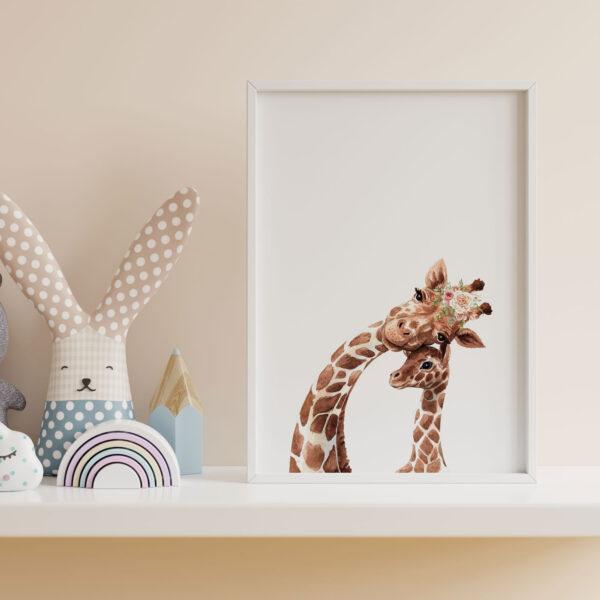 Il set stampe You are my Sunshine è un set composto da 3 stampe Nursery Wall Art, perfette per decorare la camera dei bambini o la nursery dei neonati.