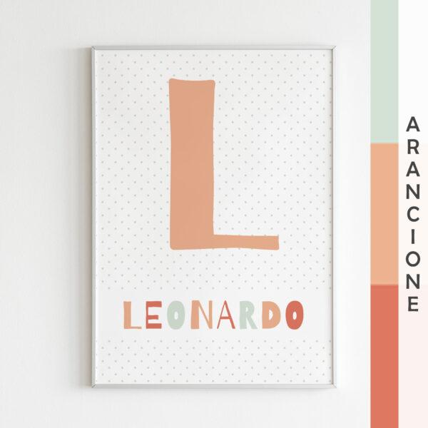 palette arancione Leonardo