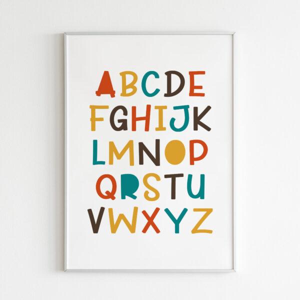 lettere dell alfabeto stampa bambini