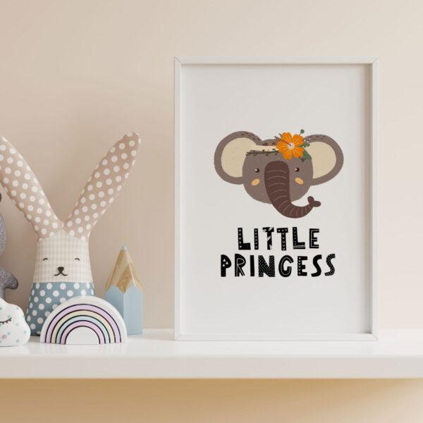 safari little princess elefante