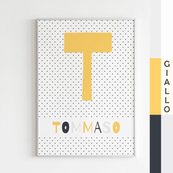 stampa bambini tommaso giallo
