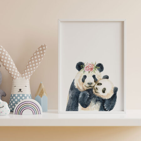 """Panda """"Animals Mother and Son"""""""